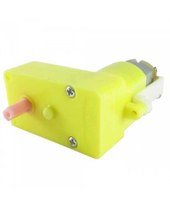 100 RPM SINGLE BO DC MOTOR (RIGHT ANGLE TYPE)