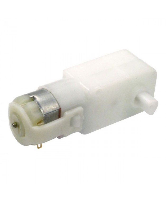 100 RPM SINGLE BO DC MOTOR (STRAIGHT TYPE)