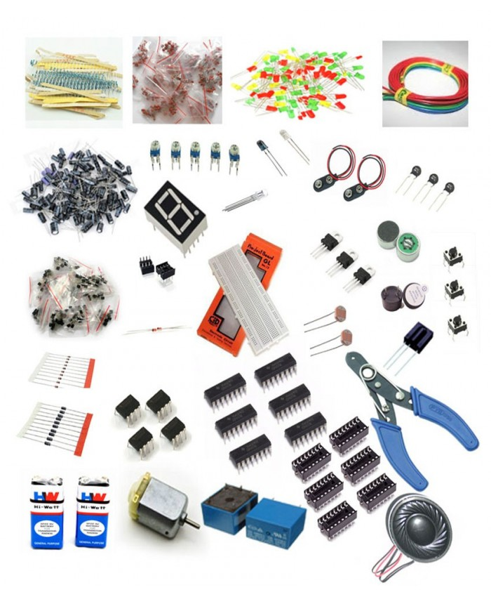 ADVANCED ELECTRONICS COMPONENTS PACK